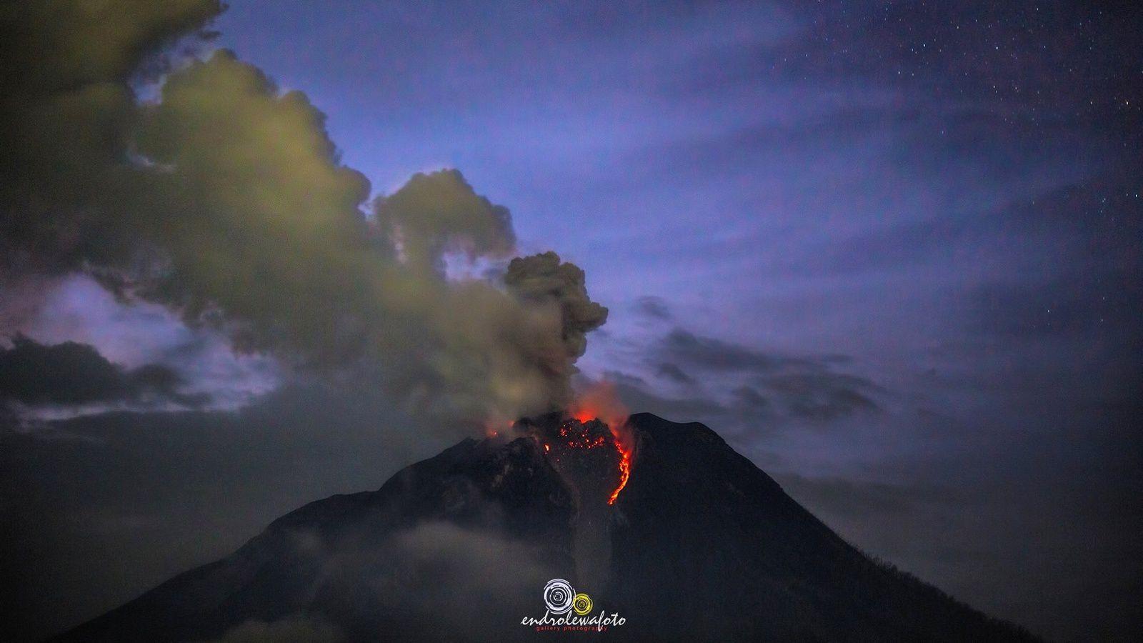 Sinabung - 22.04.2017 / 23h44 - photo endro Lewa