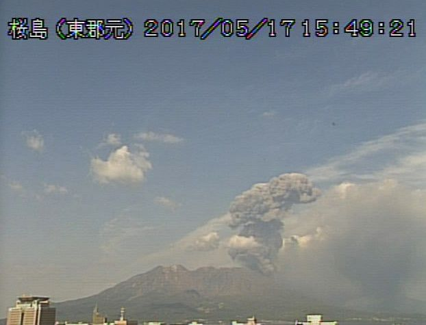Sakurajima - 17.05.2017 - 15h49 local time.