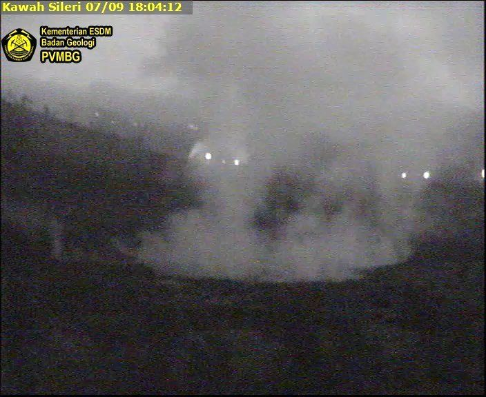 Plateau of Dieng / Sileri crater - 09.07.2017 / 18h04 - photo PVMBG