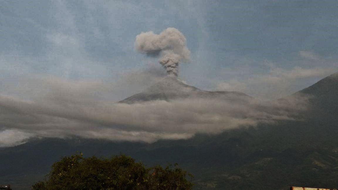 Fuego - 29.08.2017 - photo Conred