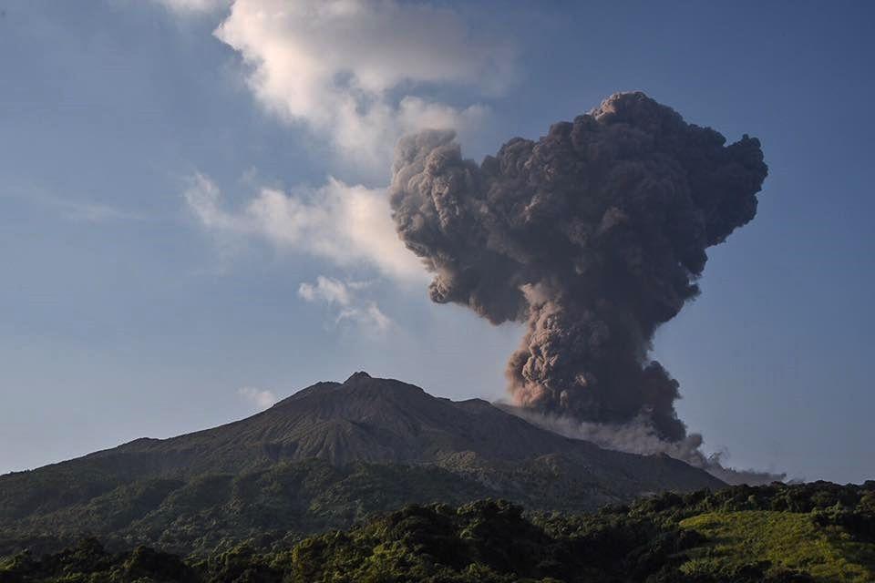 Sakurajima - 01.09.2017  - photo Tomoaki Iwakiri / Facebook
