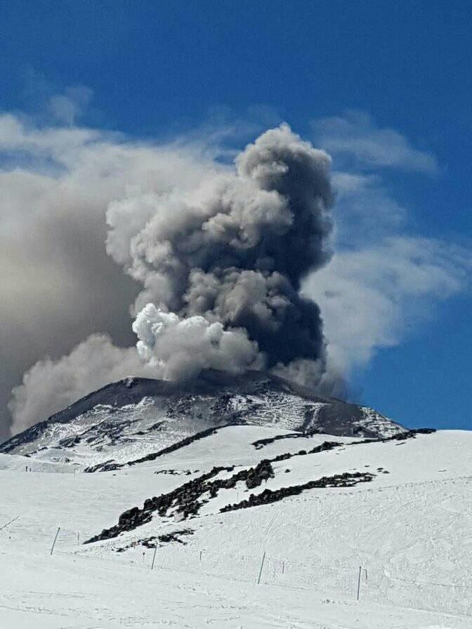 Nevados of Chillan - 21.09.2017 / 14h15 - picture of Sidvc Volcanes de Chile