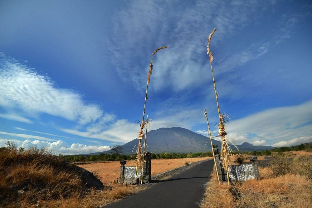 Gunung Agung - photo Tgcom24