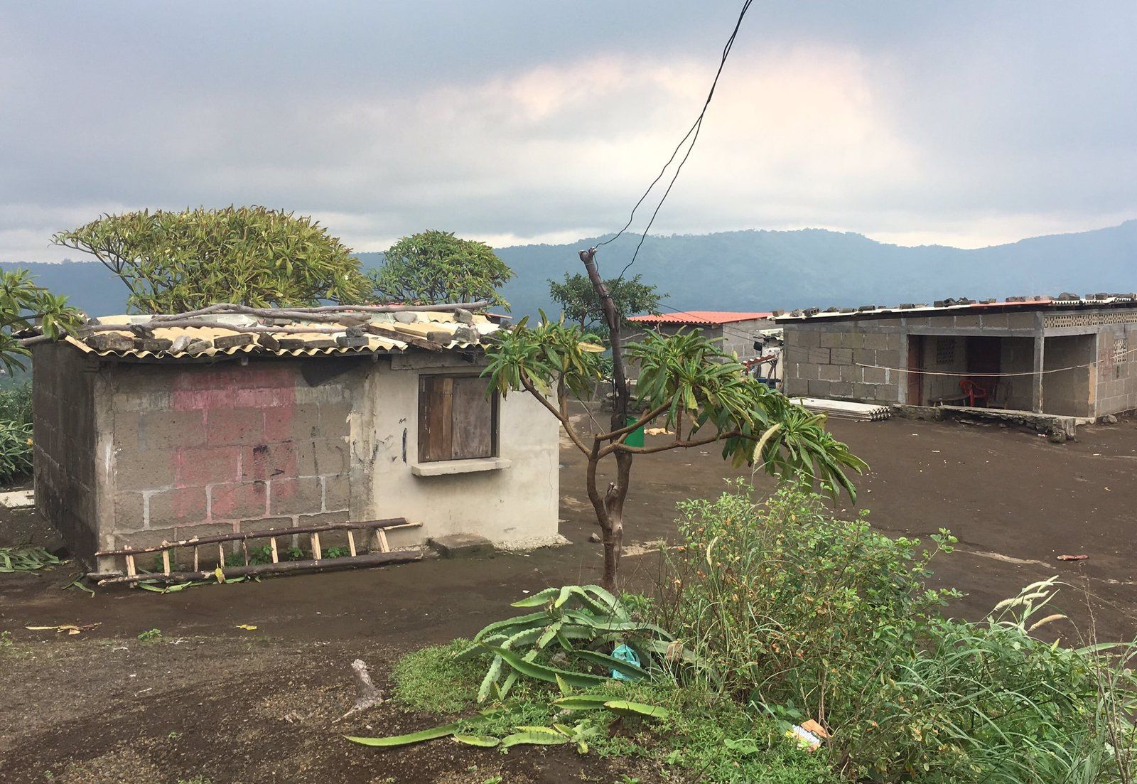 UNRESP Project - Masaya emissions from a farm and buildings covered with sheetwithout nails - Doc EGU Blogs