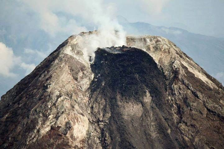 The summit crater of Mayon - archive 23.09.2017 / Dost_pagasa