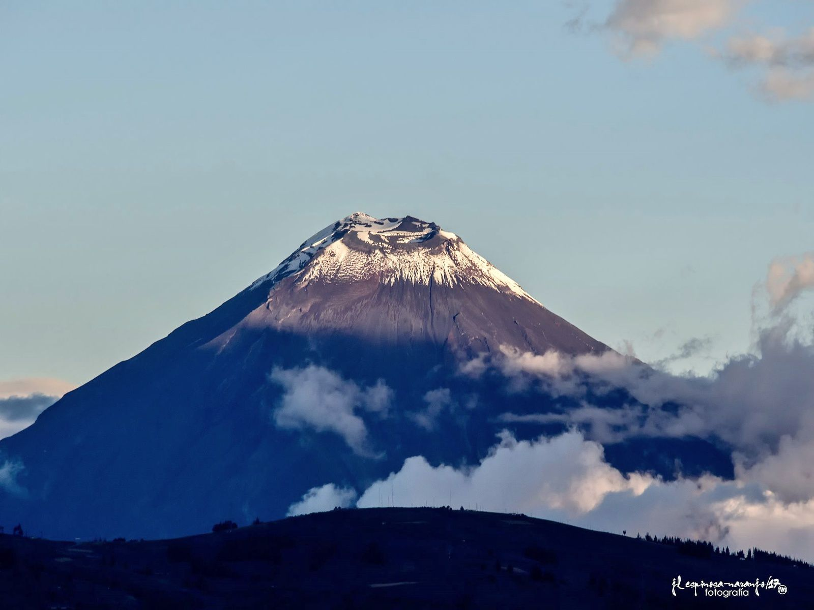 The Tungurahua on 14.11.2017 by José Luis Espinosa-Naranjo, always on the lookout for beautiful views.