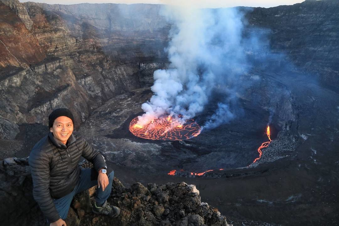 Nyiragongo - 03.11.2017  - photo  whereskyle  / Twitter
