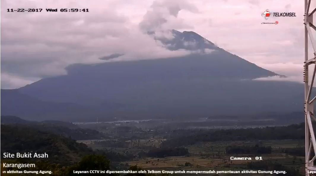 News from Agung, Erta Ale and Villarica.