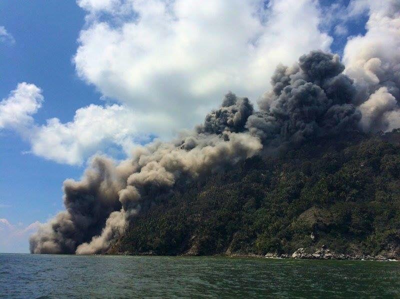 Kadovar - coulées pyroclastiques - photo Brandon Buser / us4.campaign-archive