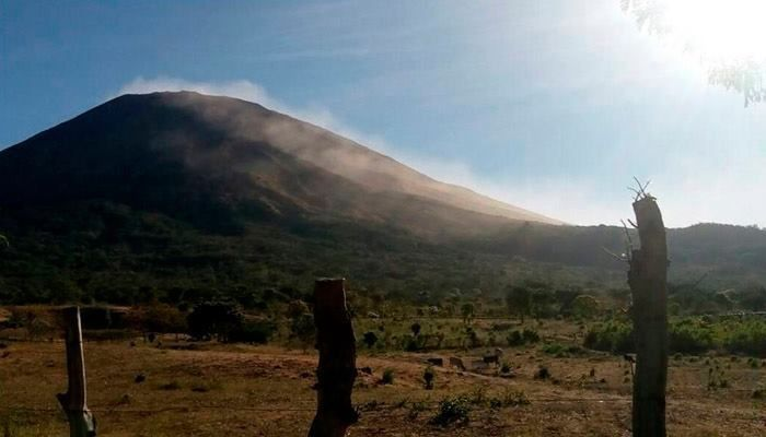 the Chaparrastic volcano of San Miguel - photo MARN