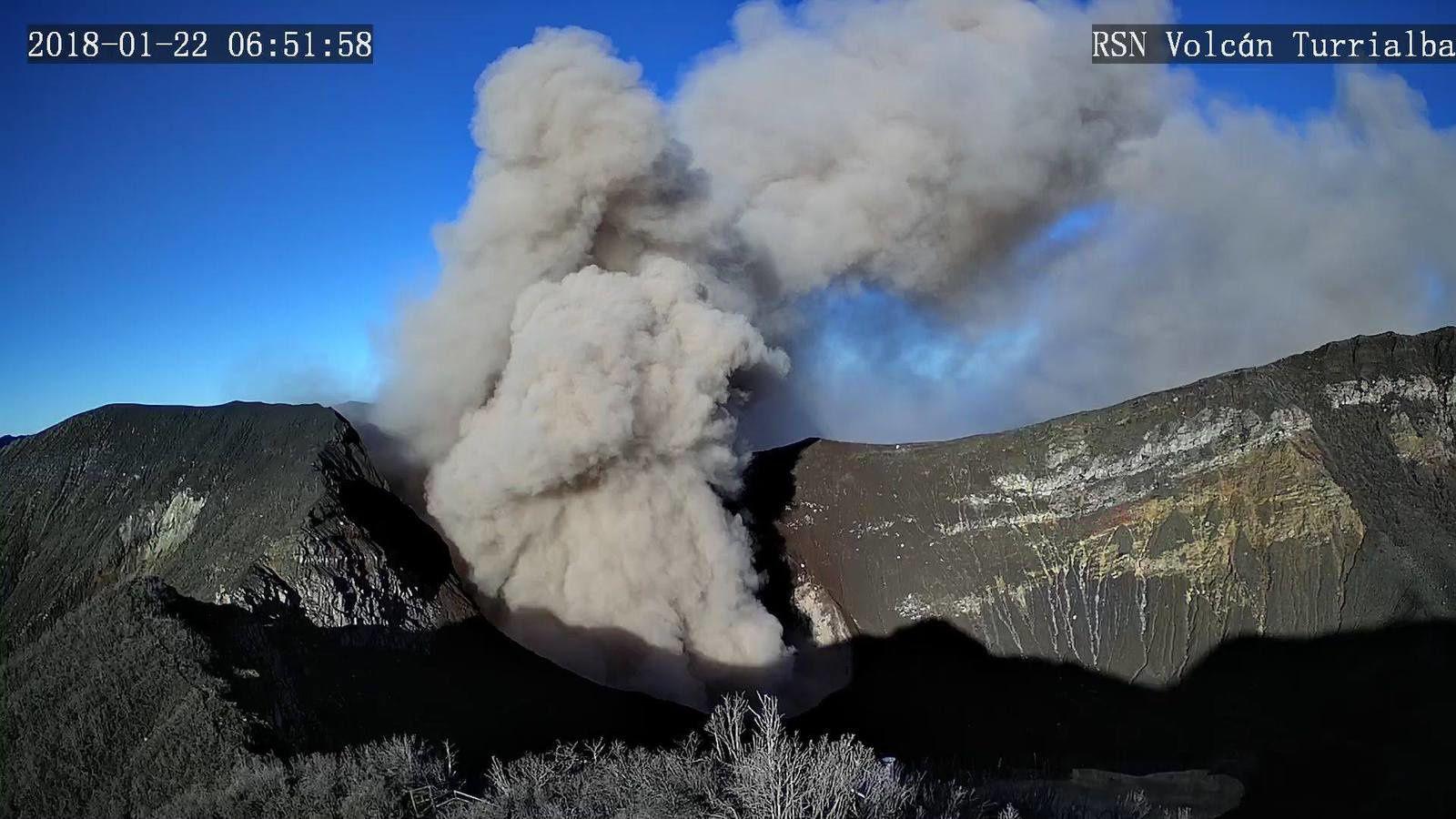 Turrialba - 22.01.2018 / 6h51 - webcam RSN