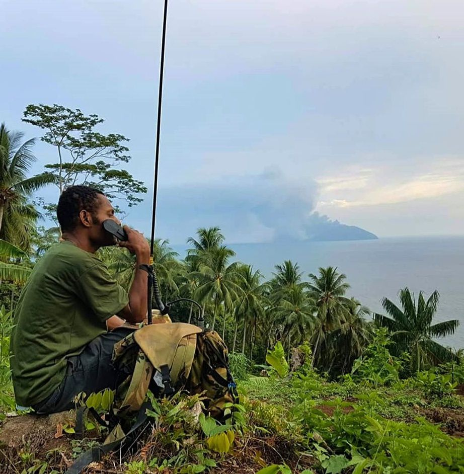 Kadovar - PNGDF and 2RPIR members continue technical and logistical assistance in East Sepik Province - photo 02.2018