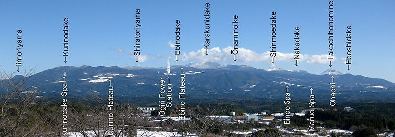 The Kirishima volcanic group- photo Ray-go
