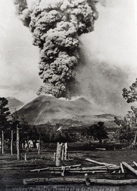 Paricutin - 16.07.1943 - image archives auteur non référencé