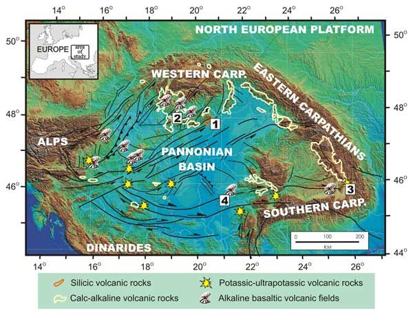 Volcanism of CPRCarpathes - Pannonian Basin - Neogene volcanic rocks in the Quaternary - Doc.Sz. Harangi