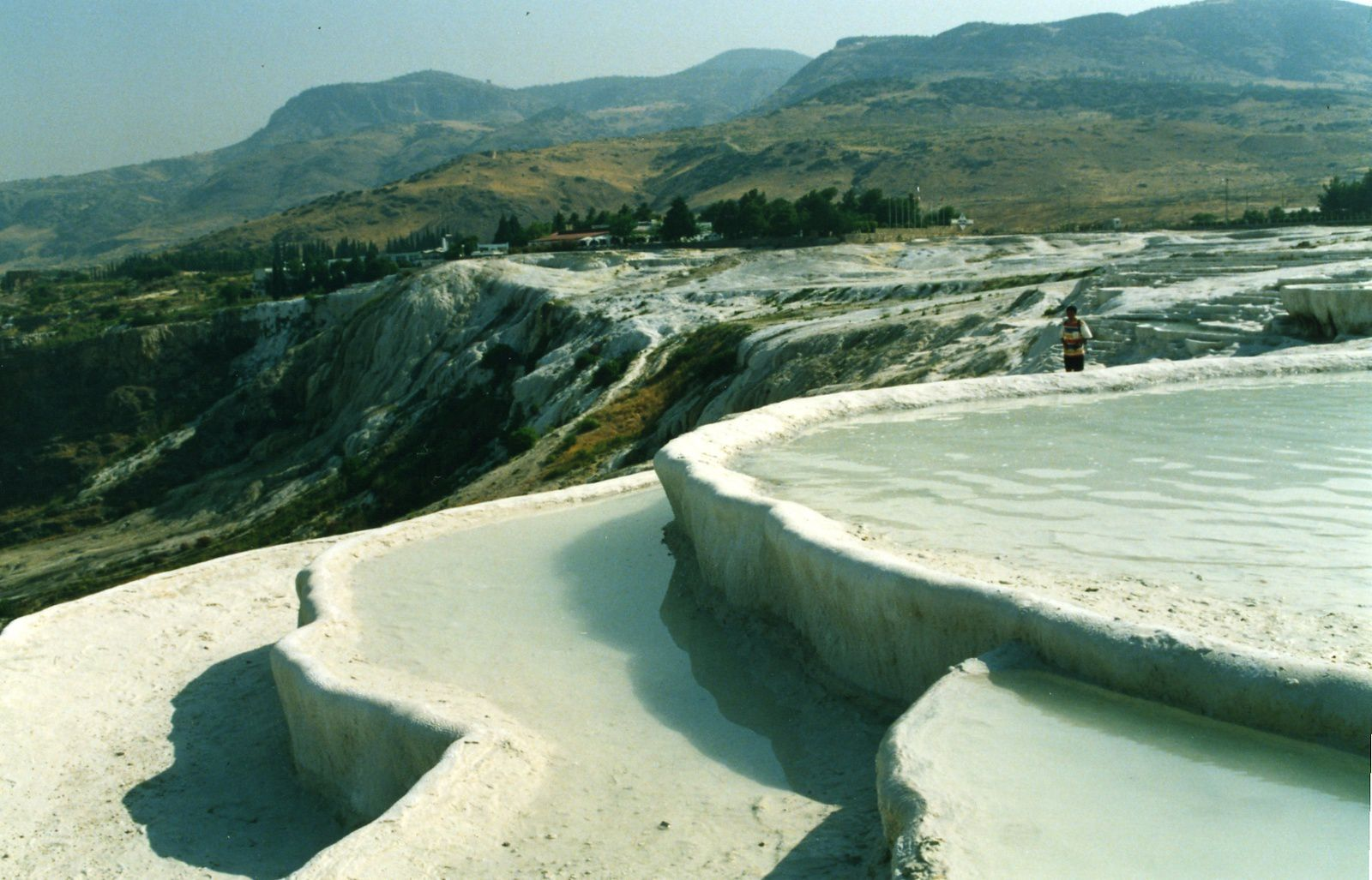 Pamukkale - Travertine terraces and ponds