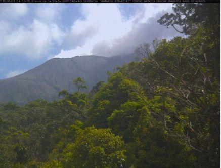 Rincon de La Vieja  - 19.03.2018 / 14h13 loc. - webcams situées à Gavilán et Buenos Aires de Upala / Ovsicori
