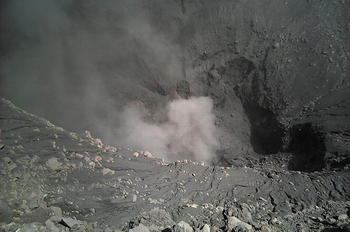 Crater of the Chaparrastic 23.03.2018 - photo SNET