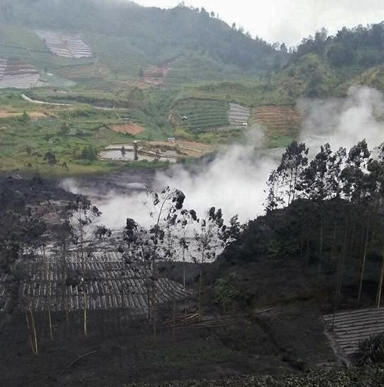 Dieng Plateau, Sileri crater - 01.04.2018 - photo BNPB