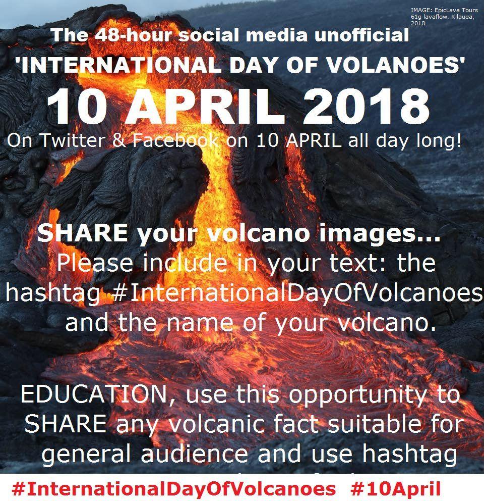 International Day of volcanoes, Ambae and Kirishima Iozan activity.