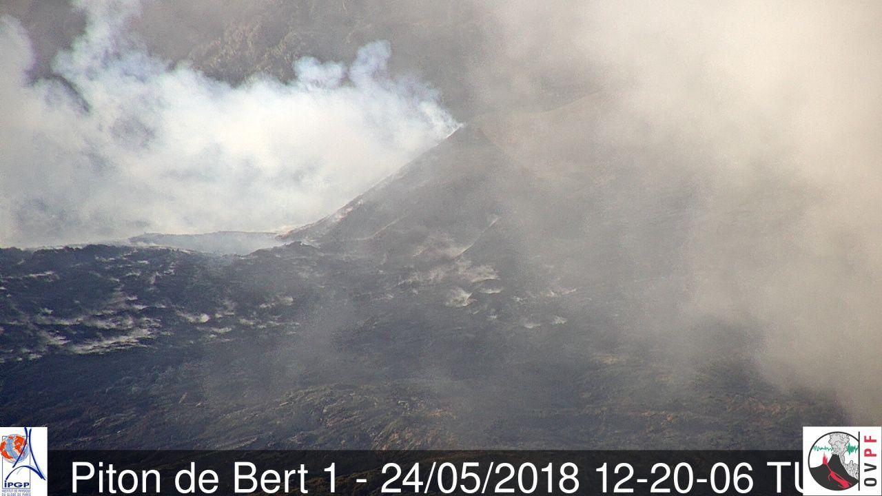 Piton de La Fournaise - 24.05.2018 / 12:20 UT - Camera BERT1 / OVPF