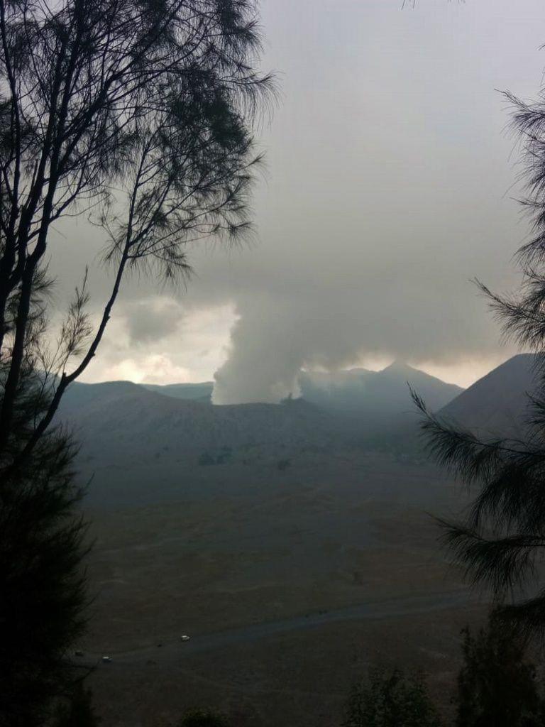 Bromo - 20.06.2018 - photo Via Sutopo Nugroho / BNPB