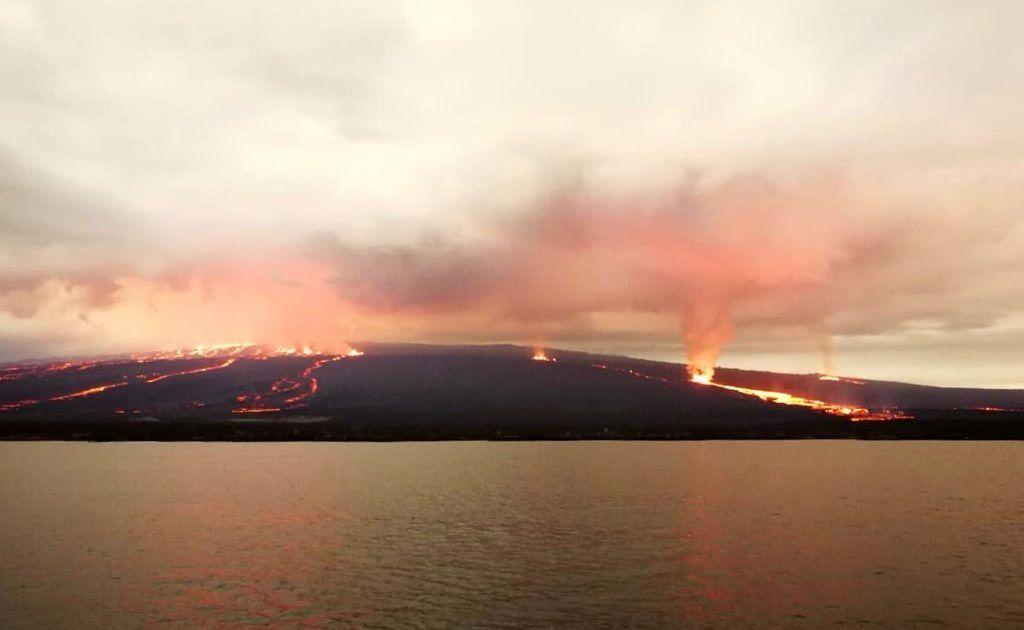 Sierra Negra / île Isabela - 26.06.2018 - photo Giancarlo Toti / Parque Galapagos