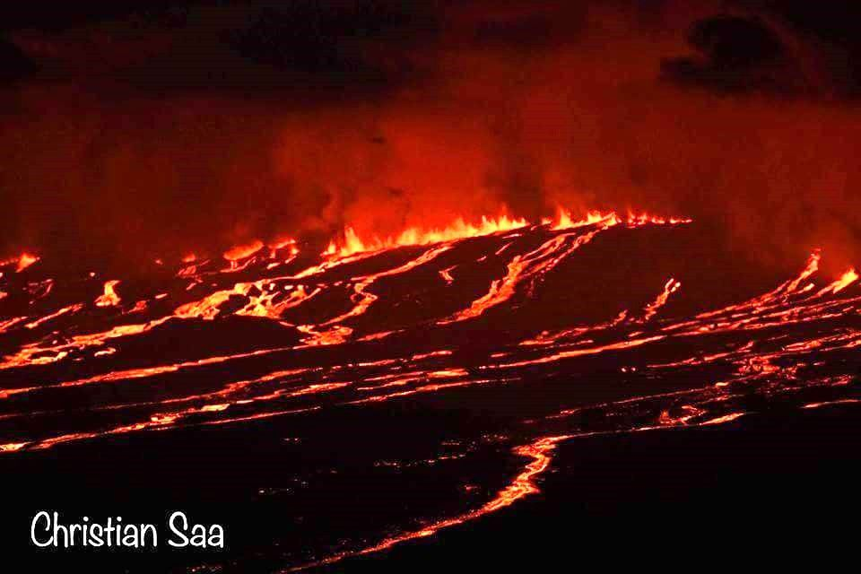 "Sierra Negra - eruptive fissures - photo Christian Saa, on board of the National Geographic Endeavour. 21.06.2018 / via  Galapagos travel"" """