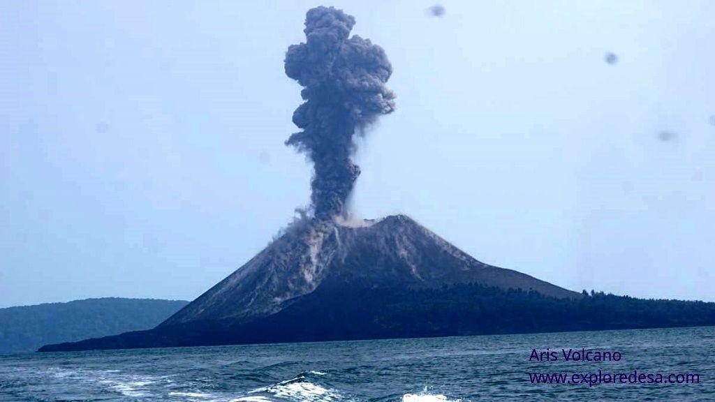 Anak Krakatau - 22.07.2018 - photo Aris Yanto / Exploredesa
