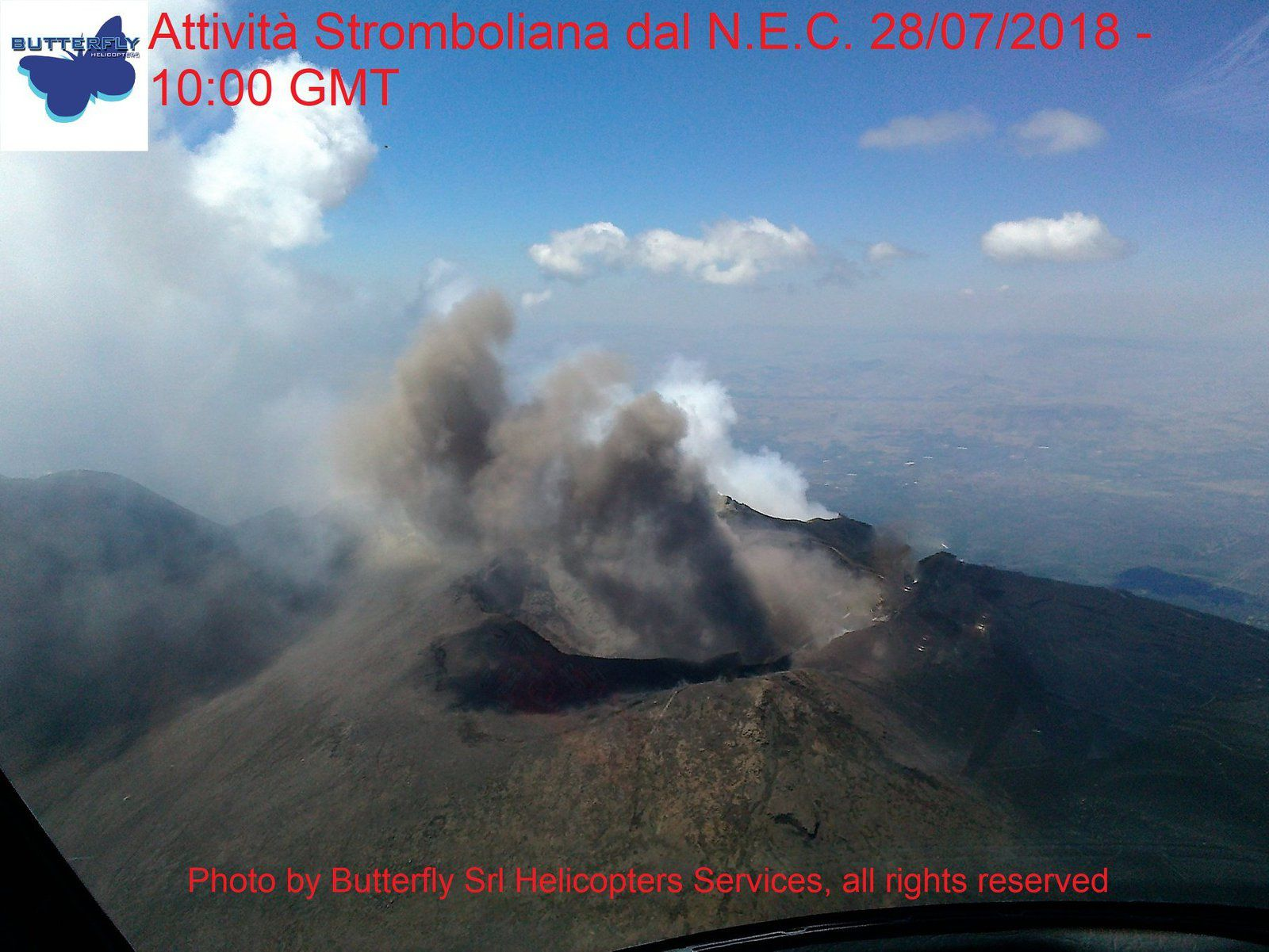 Etna NEC - 28.07.2018 / 10h GMT - photo J.Nasi / Butterfly Helicopters
