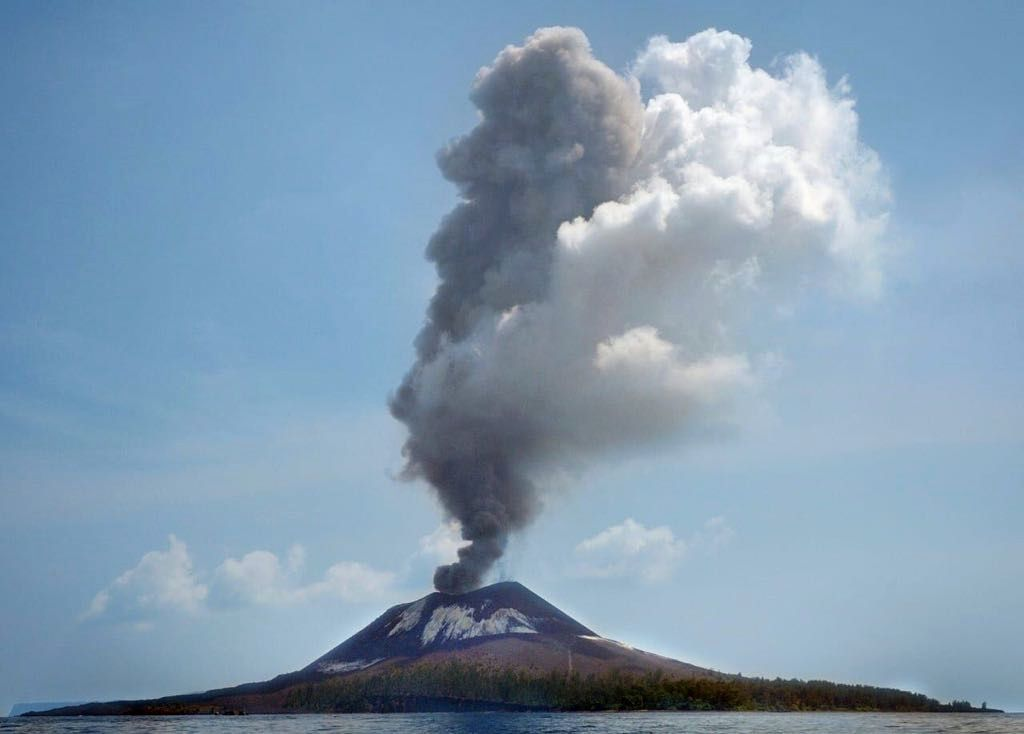 Anak Krakatau - 18.08.2018 - photo BNPB