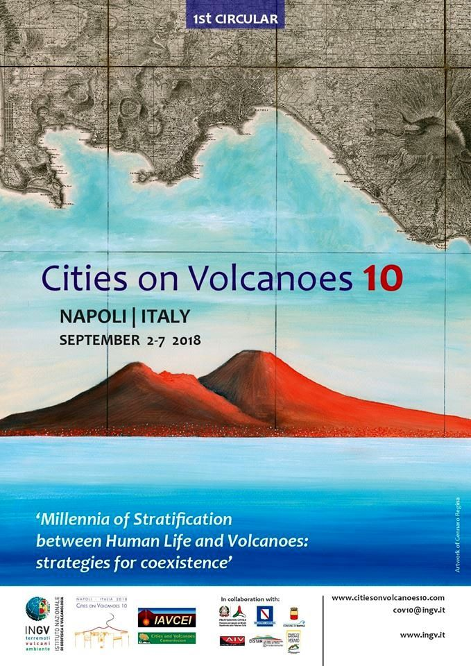 Art on the way of fire: Gennaro Regina and Cities on Volcanoes 10.