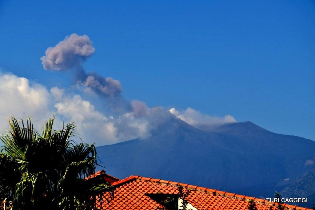 Etna - Explosion and ash emission 11.09.2018 - photo Turi Caggegi