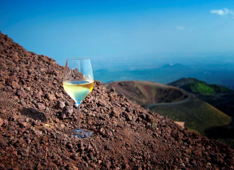 Wine and volcanoes - photo Vino & Style / Cities on volcanoes 10