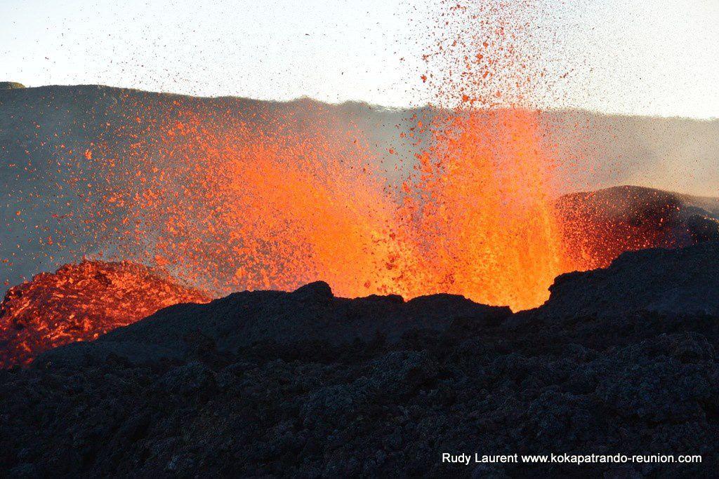 Piton de La Fournaise - éruption du 15.09.2018 - Photo Rudy Laurent / Kokapat rando Réunion