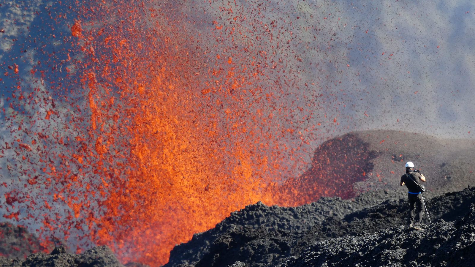 Piton of the Furnace - 15,09,2018 - photo © Thierry Sluys / Flickr Volcanolover