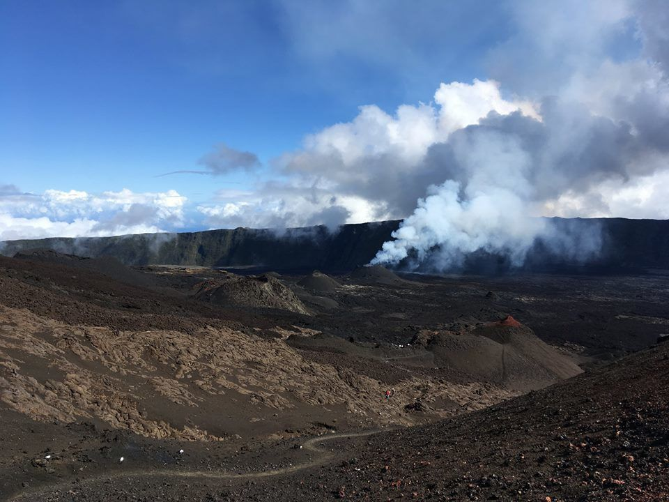 Piton of La Fournaise - 01.10.2018 - OVPF photo