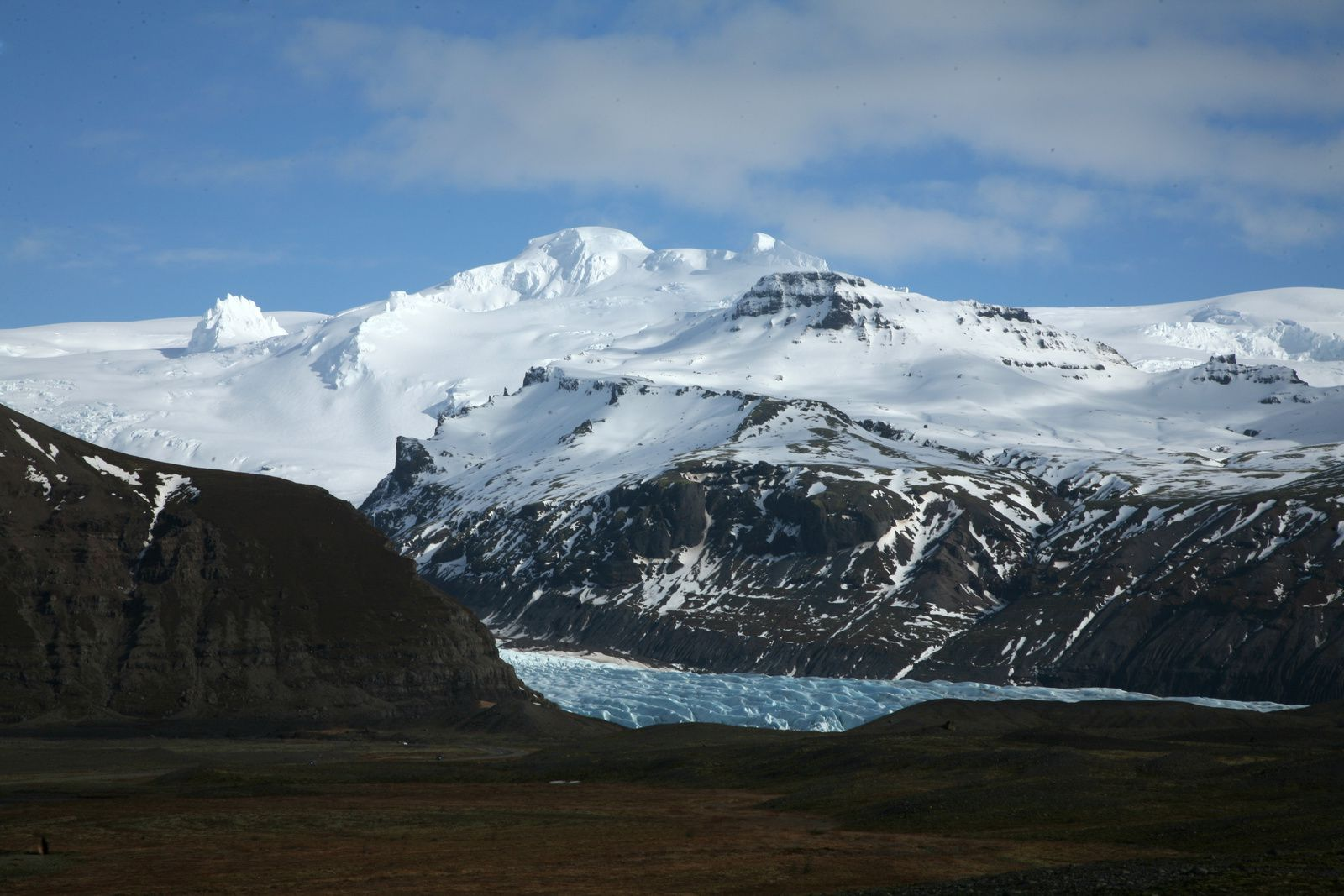 The Öræfajökull from the ring road- photo © Bernard Duyck