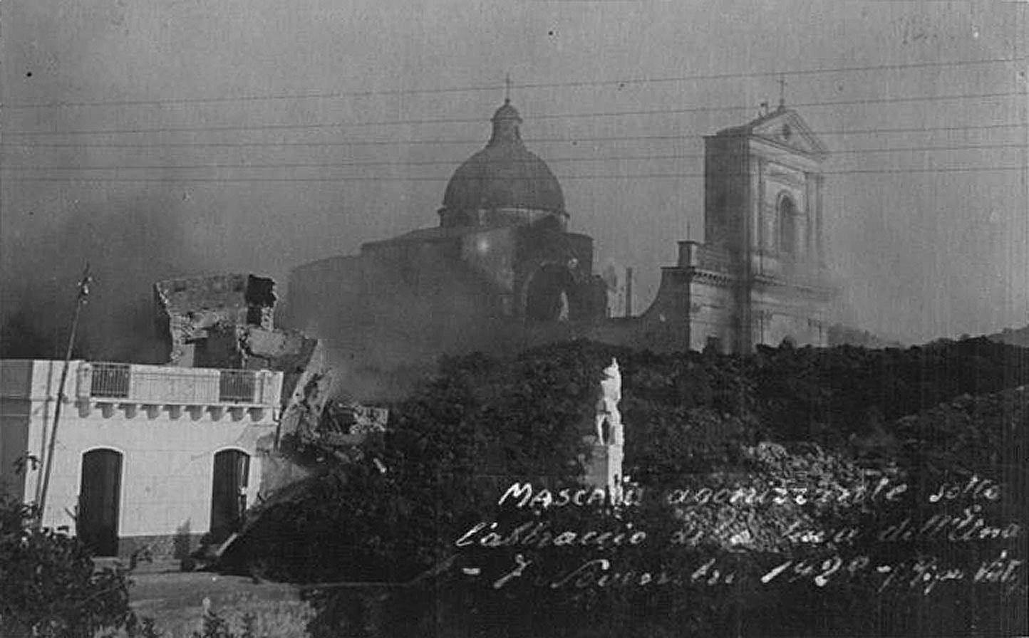 Mascali 1928 - archive postcard
