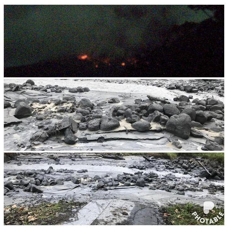 "Rincon of La Vieja - explosion and lahar from 20.01.2019 - Ovsicori webcam & Oscar Alvarado ""Mapache"""