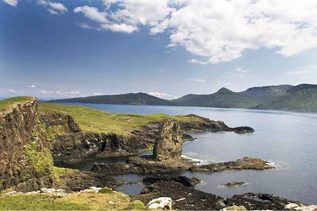 Canna - Small isles Ecosse - photo Scotland info