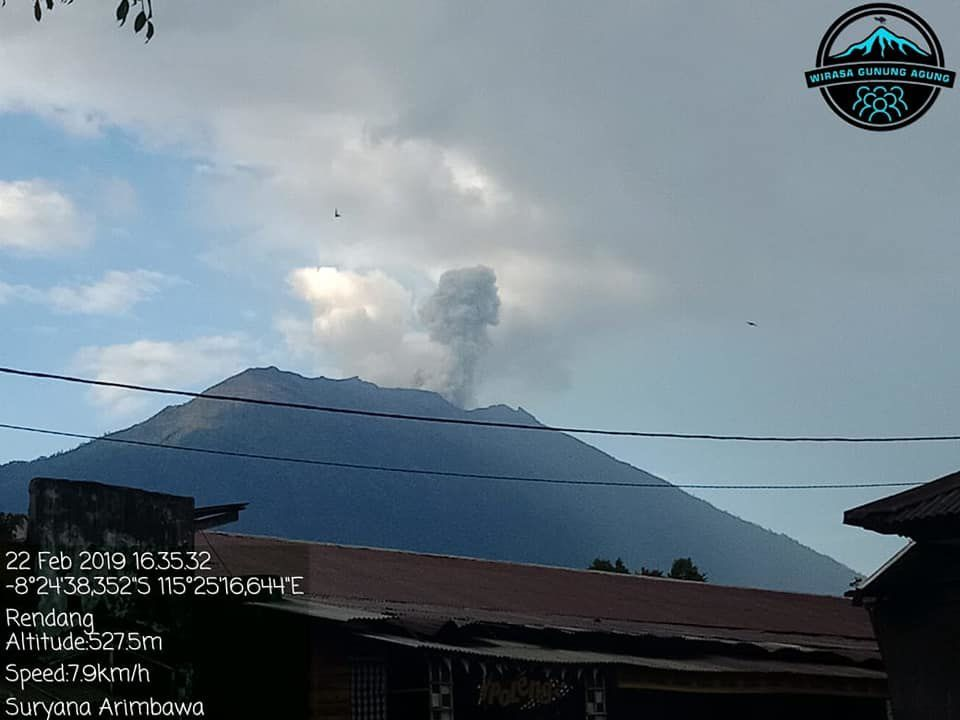 Agung - 22.02.2019 / 16h35 - photo  Wisara Gunung Agung