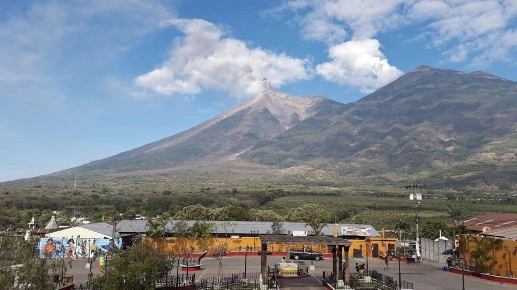 Fuego - activity from 22.03.2019 / 15h 55 - photo Conred