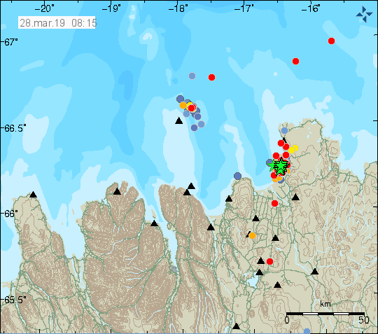 News of Sangay, Karymsky, Villarica and Tjörnes fracture zone.