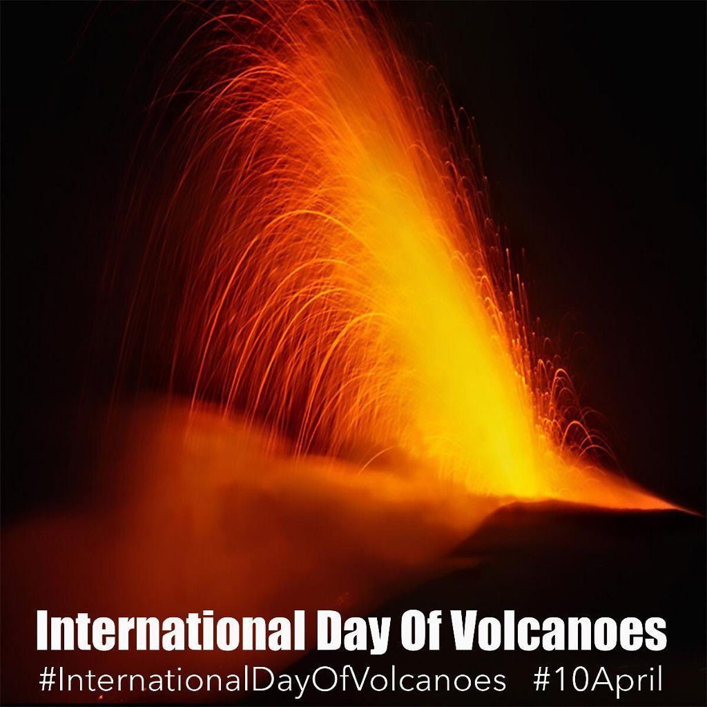 International Volcano Day - April 10th. Nice day to all.