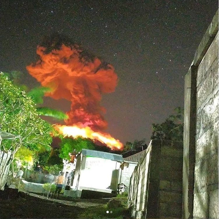 Agung - 24.05.2019 - photo Magma Indonesia