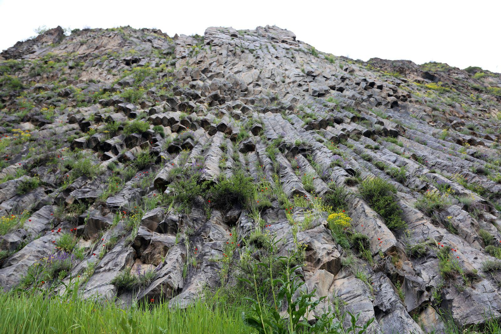 Armenia - Volcanic organs of Garni - photo © Bernard Duyck 2019