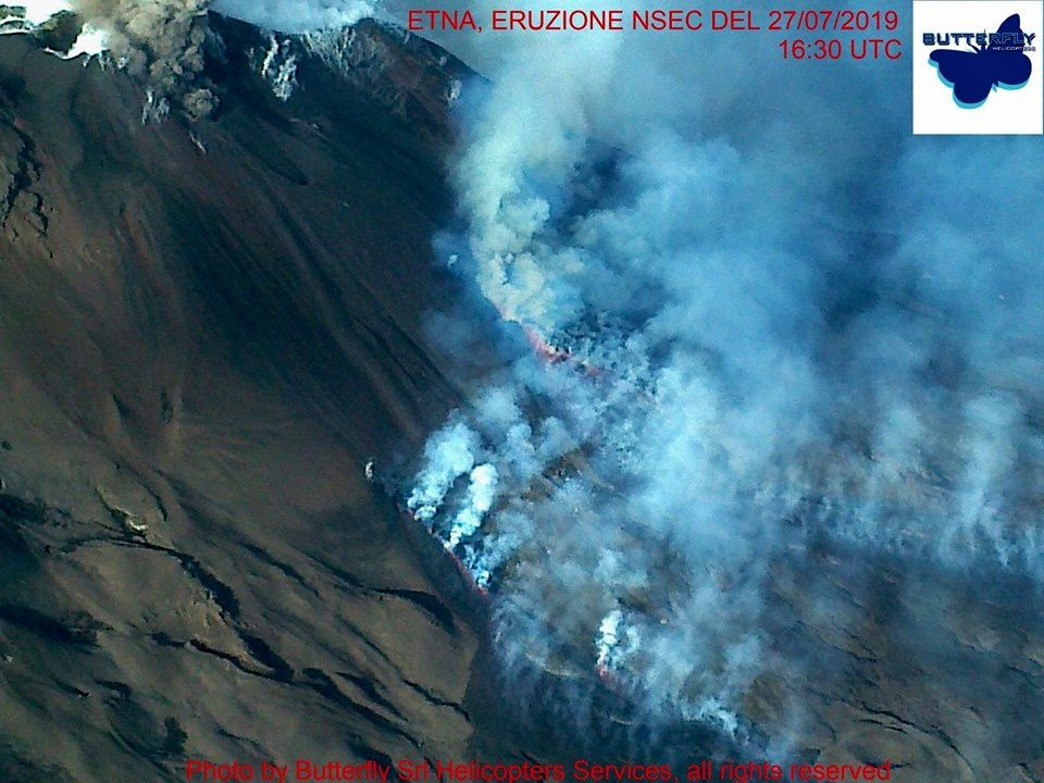 Etna NSEC - photo on flyover by J.Nasi / Butterfly Helicopters 27.07.2019 / 16h30