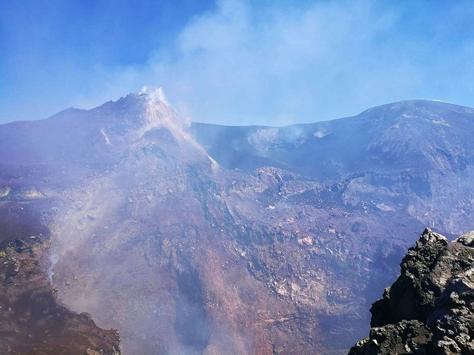 Etna - 13.09.2019 - photo F. Ciancitto / INGV-OE