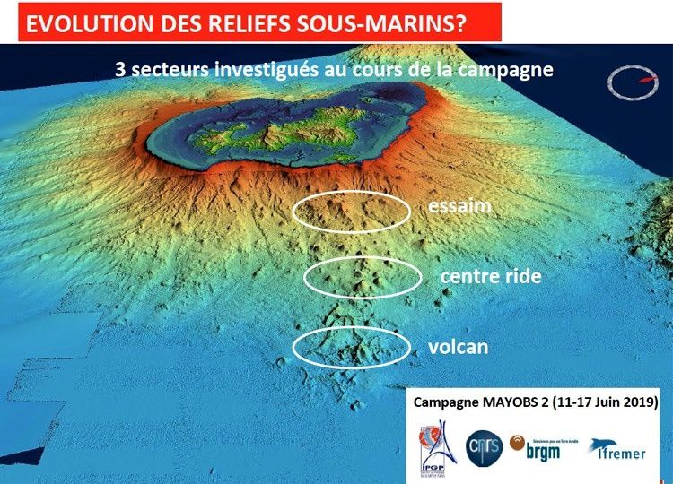 Mayotte - ongoing seismic-volcanic crisis - image archives Mayotte Newspaper / Mayobs Campaign2